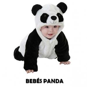 Ropa de panda para bebé barata y en oferta