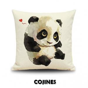 Comprar cojines de panda en oferta