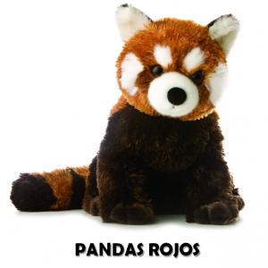 Comprar peluche de panda rojo barato