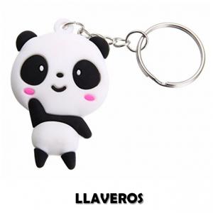 comprar llaveros de panda